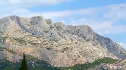 photographie d'art montagne sainte-victoire