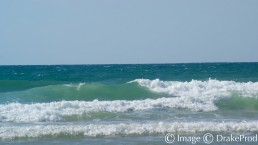 photographie art vague mer