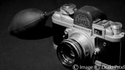 objet Appareil-photo photographie monochrome