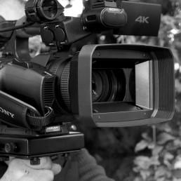 équipement Sony camera vidéo 4k professionnelle