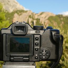 Prise de photographie paysage